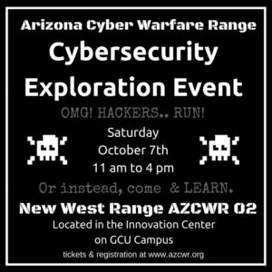 Cybersecurity Exploration Event - AZCWR