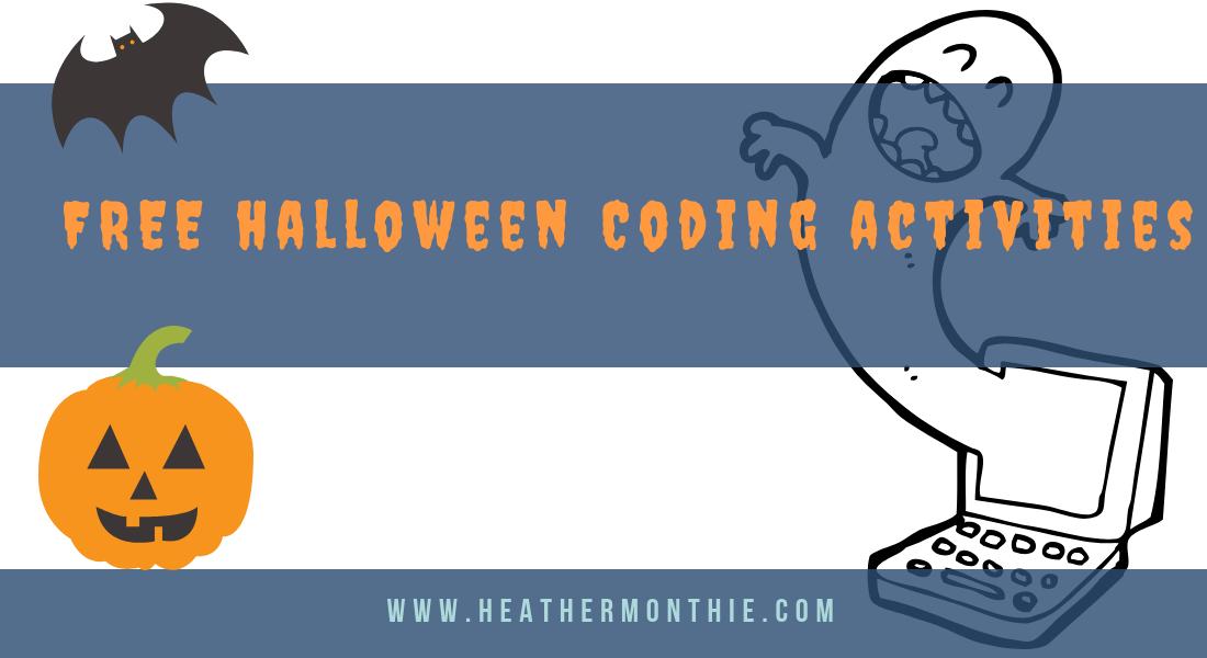 Free Halloween Coding Activities Stem Steam Heather Monthie